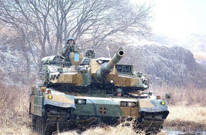 韓國陸軍第20師團寒冬作戰演習