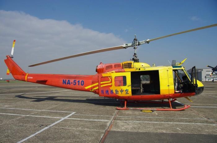 空勤總隊除役UH-1H送還空軍救護隊